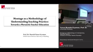 Miniaturansicht - Montage as a Methodology of Understanding Teaching Practice: Towards a Phonetic Teacher Education