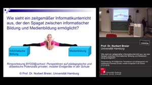 Miniaturansicht - Wie sieht ein zeitgemäßer Informatikunterricht aus, der den Spagat zwischen informatischer Bildung und Medienbildung ermöglicht?