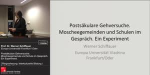 Thumbnail - Interkulturelle Bildung: Postsäkulare Gehversuche. Moscheegemeinden und Schulen im Gespräch. Ein Experiment.