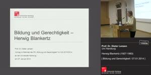 Thumbnail - Bildung und Gerechtigkeit: Herwig Blankertz (1927-1983)