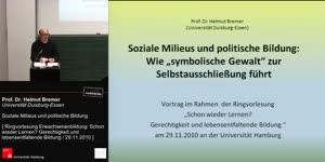 Miniaturansicht - Soziale Milieus und politische Bildung.