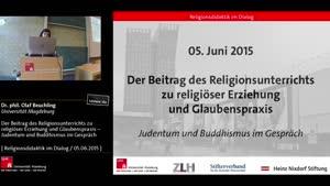 Miniaturansicht - Der Beitrag des Religionsunterrichts zu religiöser Erziehung und Glaubenspraxis – Judentum und Buddhismus im Gespräch