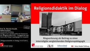 Thumbnail - Heilige Texte und die politische Dimension des Religionsunterrichts – Evangelische und Islamische Religionspädagogik im Gespräch