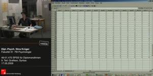 Thumbnail - 9) Einführung in die Software SPSS ein Programm zur statistischen Auswertung von quantitativen Daten