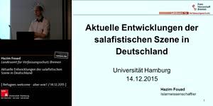 Miniaturansicht - Aktuelle Entwicklungen der salafistischen Szene in Deutschland