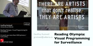 Thumbnail - Reading Olympia: Visual Programming for Surveillance
