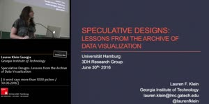 Thumbnail - Speculative Designs: Lessons from the archive of data visualization
