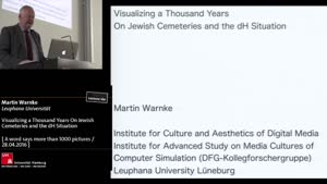 Thumbnail - Visualizing a Thousand Years on Jewish Cemeteries and the dH Situation