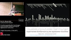 Miniaturansicht - Visualisierung kultureller Sammlungen: Experimentelle Sichtbarmachung des digitalisierten Kulturerbes