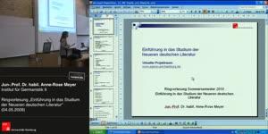 Thumbnail - Einführung in das Studium der neuen deutschen Literatur vom 04.05.2010