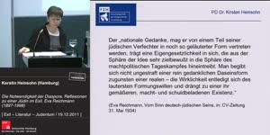 Miniaturansicht - Die Notwendigkeit der Diaspora. Reflexionen einer deutschen Jüdin im  Exil - Eva Reichmann (1897-1998)