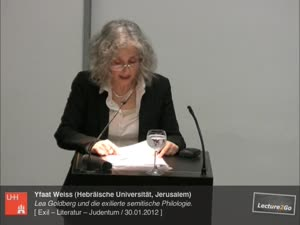 """Miniaturansicht - """"Mut zum Profanen"""". Lea Goldberg und die exilierte semitische Philologie"""
