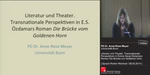 Miniaturansicht - Literatur und Theater. Transnationale Perspektiven in Emine Sevgi Özdamars Roman Die Brücke vom Goldenen Horn