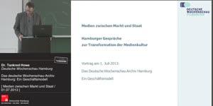 Thumbnail - Das deutsche Wochenschau-Archiv Hamburg: Ein Geschäftsmodell
