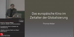 Thumbnail - Das europäische Kino im Zeitalter der Globalisierung
