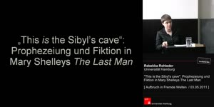 Miniaturansicht - 'This is the Sibyl's Cave': Prophezeiung und Fiktion bei Mary Shelleys The Last Man