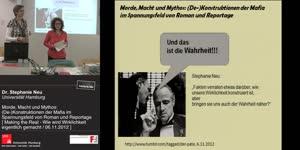 Miniaturansicht - Morde, Macht und Mythos: (De-)Konstruktionen der Mafia im Spannungsfeld von Roman und Reportage