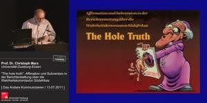 """Miniaturansicht - """"The hole Truth"""". Affirmation and Subversion in der Berichterstattung über die Wahrheitskommission Südafrikas"""