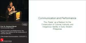 """Miniaturansicht - Communication and Performance: The """"Fiesta"""" as a Medium for the Construction of Colonial Authority and Indigenous Identity in Early Modern Philippines"""