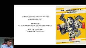 Miniaturansicht - Kundrus Vorlesung Zweiter Weltkrieg Teil 3