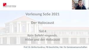 Miniaturansicht - Teil 4: Kein Befehl nirgends. Hitler und der Holocaust