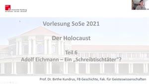 """Miniaturansicht - Teil 6 Adolf Eichmann – Ein """"Schreibtischtäter""""?"""