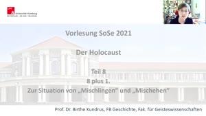 """Thumbnail - Teil 8: 8 plus 1. Zur Situation von """"Mischlingen"""" und """"Mischehen"""""""