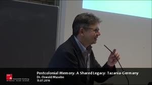 Thumbnail - Postcolonial Memory:A Shared Legacy: Tanzania-Germany