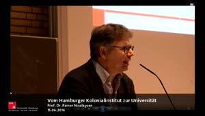 Miniaturansicht - Vom Hamburger Kolonialinstitut zur Universität