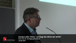 Miniaturansicht - Europa oder China – wo liegt die Mitte der Welt?