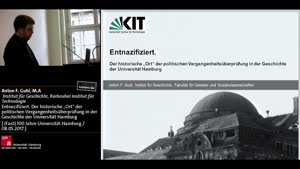 """Miniaturansicht - Entnazifiziert. Der historische """"Ort"""" der politischen Vergangenheitsüberprüfung in der Geschichte der Universität Hamburg"""