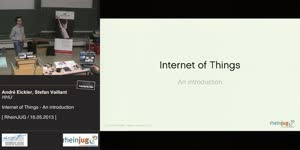 Miniaturansicht - Internet of Things - An introduction