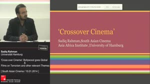 Miniaturansicht - 'Cross over Cinema': Bollywood goes Global.'Terror Attacks South Asian Cinema ': Films on Terrorism and other relevant themes