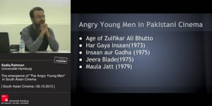 Miniaturansicht - The emergence of 'The Angry Young Men.' in South Asian Cinema:Its Social, Political and Economic Impact