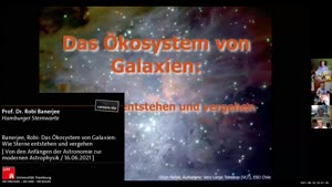 Thumbnail - Banerjee, Robi: Das Ökosystem von Galaxien: Wie Sterne entstehen und vergehen