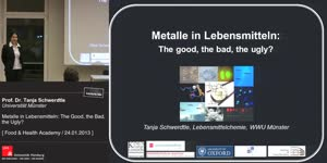 Vorschaubild - Metalle in Lebensmitteln: The Good, the bad, the Ugly?