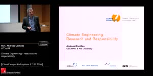Miniaturansicht - Climate Engineering - research and responsibility