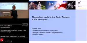 Miniaturansicht - The carbon cycle in the Earth System: a few  research examples