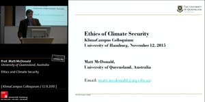 Miniaturansicht - Ethics and Climate Security