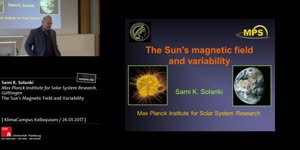 Miniaturansicht - The Sun's Magnetic Field and Variability