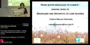Miniaturansicht - From water molecules to climate - making sense of Greenland and Antarctic ice core records
