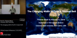 Miniaturansicht - The changing width of Earth's tropical belt