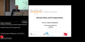 Miniaturansicht - Climate Policy and Trumponomics