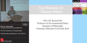 Miniaturansicht - The Ten Domains of Climate Ethics