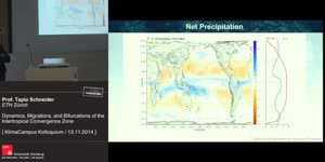 Miniaturansicht - Dynamics, Migrations an Bifurcations of the Intertropical Convergence Zone