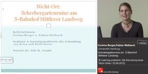 Thumbnail - Berger/Wallasch: Nicht-Ort: Schrebergartenruine am S-Bahnhof Mittlerer Landweg