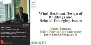 Miniaturansicht - Wind Resistant Design of Buildings and Related Emerging Issues
