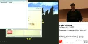 Miniaturansicht - SE1, Vorlesung 6- Strukturierte Programmierung und Rekursion (24.11.2010)