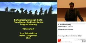 Miniaturansicht - SE1, Vorlesung 4- Imperative Grundkonzepte(10.11.2010)