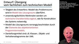 Vorschaubild - 7.3 Entwurf und Entwurfsmuster